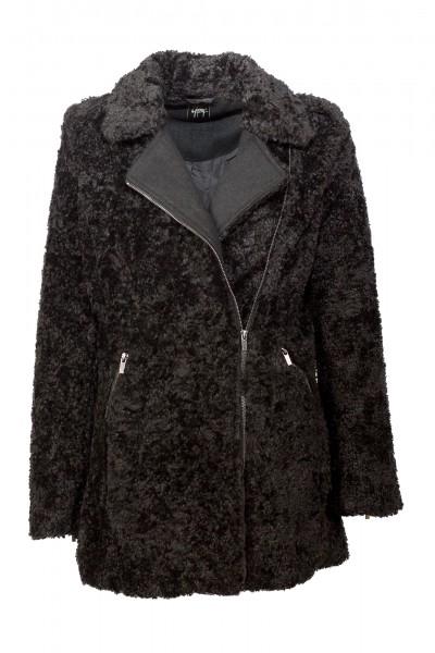 Gipsy Textilmantel schwarz Ansley