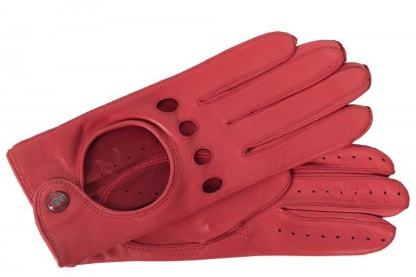 Top-modische knallrote Autohandschuhe der Fahrerhandschuh für die modebewußte Frau