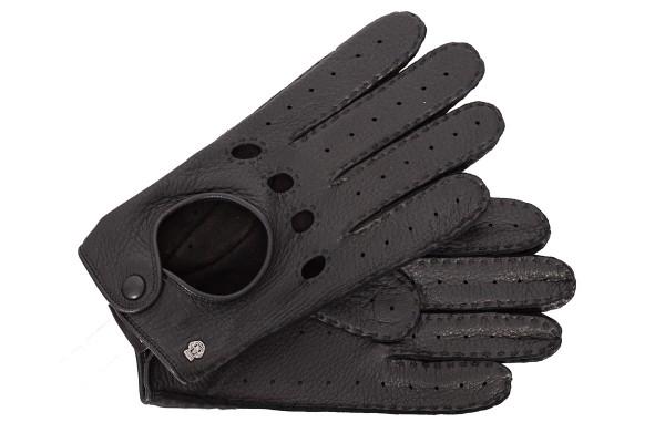 Roeckl Herren Autofahrerhandschuhe schwarz