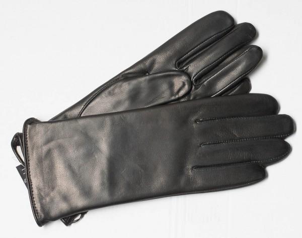 Klassischer Damenhandschuh von Roeckl aus Ziegen-Nappa schwarz