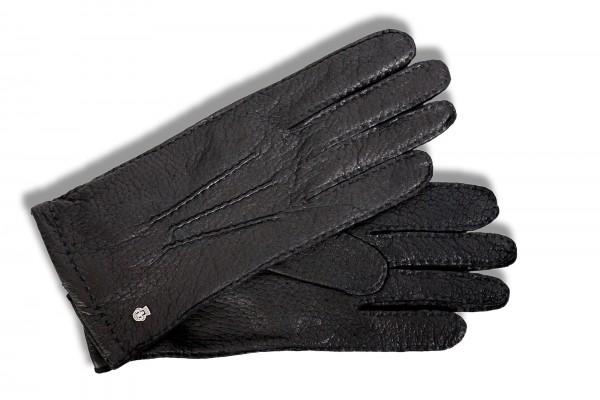Hochwertige Peccary Handschuhe von Roeckl in schwarz