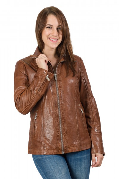 Deercraft Lederjacke dark brown Claudi