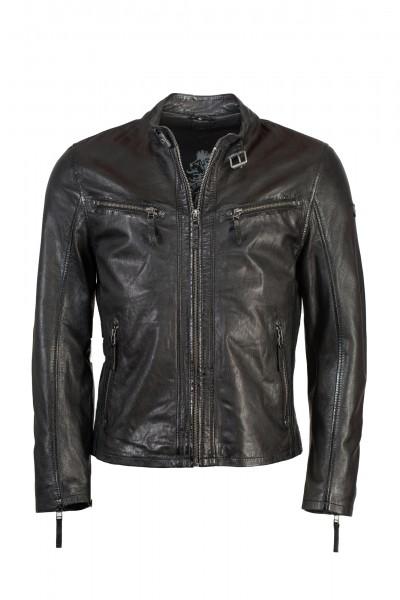 Gipsy Bikerjacke schwarz Barney