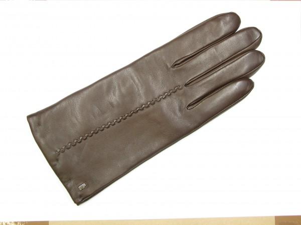 Roeckl Damenhandschuh echt Leder dunkelbraun