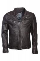 ddc5a6807e46 Gipsy Herren Lederjacke schwarz Max · Trendige Bikerjacke von Gipsy in  schwarz