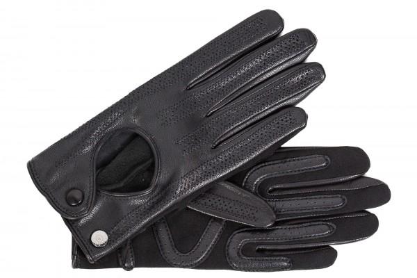 Roeckl Damen Autohandschuhe schwarz mit Spandex 13012-351