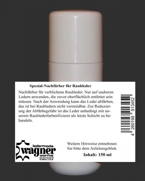Nachfärber schwarz für verblichene Rauhleder 150 ml