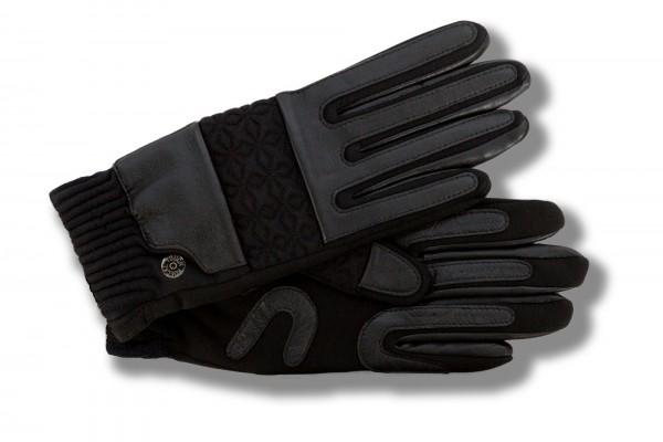 Modische Touchscreen Handschuhe für Damen von Roeckl schwarz