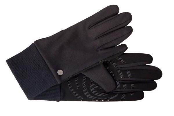 Trendige Touch Handschuhe für Damen schwarz