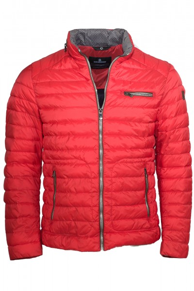 Milestone Steppjacke rot Hunter Padding