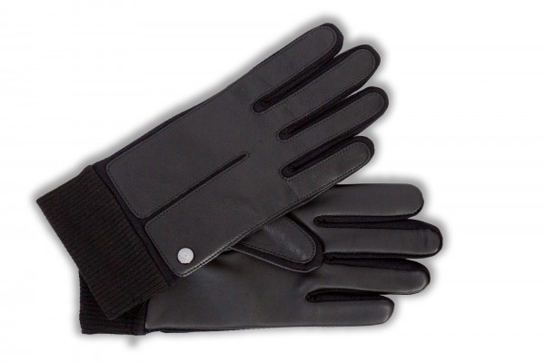 sportive touch handschuhe von roeckl in schwarz touchhandschuhe f r herren handschuhe herren. Black Bedroom Furniture Sets. Home Design Ideas