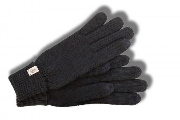 Modische Strickhandschuhe von Roeckl Damen mit Touch in schwarz