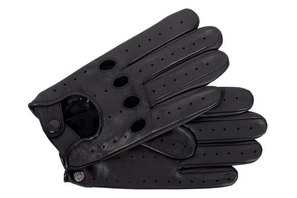Roeckl Herren Autohandschuhe schwarz ungefüttert mit Touchfunktion