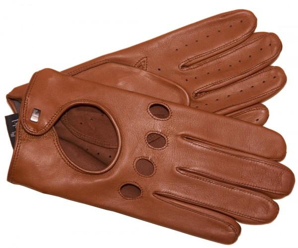 Roeckl Autofahrer Handschuhe Herren cognac 13013-930