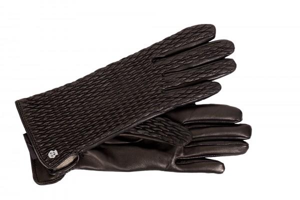 Schicke Lederhandschuhe von Roeckl in schwarz