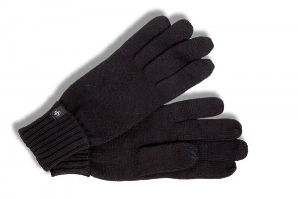 Roeckl Damen Strickhandschuhe Touch schwarz 26011-100