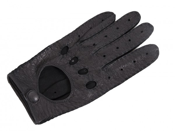 Roeckl Fahrerhandschuhe Peccary echt Leder schwarz