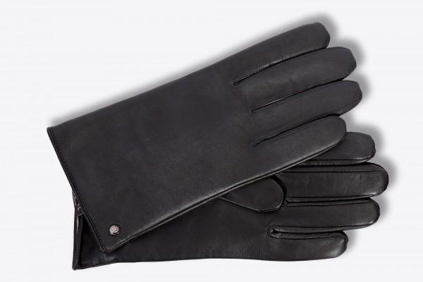 Eleganter Lederhandschuh von Roeckl in schwarz