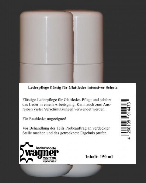 Flüssige Lederpflege für Glattleder mit ausgeprägten Schutz- und Pflegeeigenschaften 300 ml