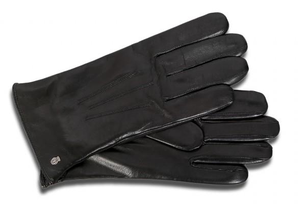 Warmer ROECKL Herren Leder Handschuh mit Wollfutter