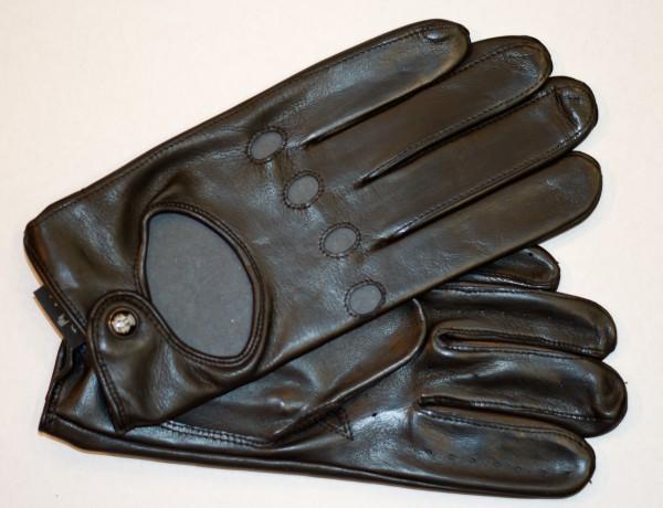 Klassische Autofahrer Handschuhe für Herren von Roeckl in schwarz