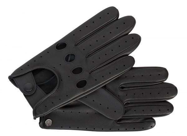Sportive Autofahrer-Handschuhe von Roeckl in schwarz