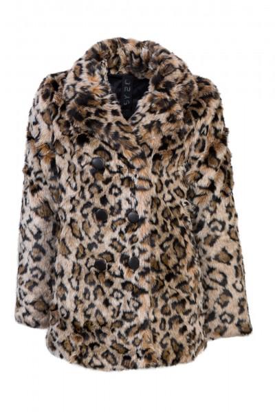 Gipsy Leopardenfelljacke vegan