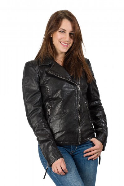Gipsy Bikerjacke schwarz Carlin