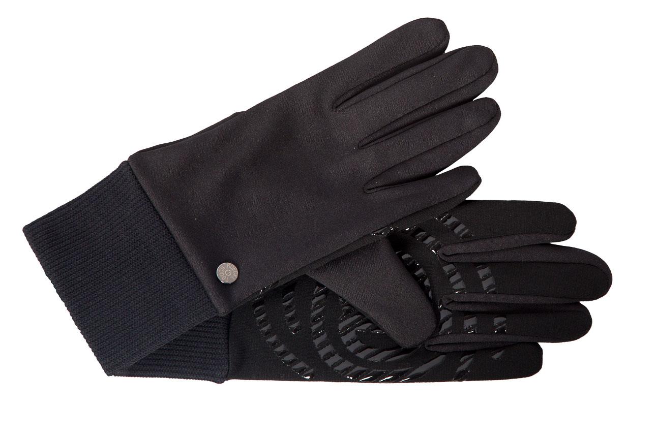 trendige touch handschuhe f r damen schwarz damenhandschuhe handschuhe damen ledermode wagner. Black Bedroom Furniture Sets. Home Design Ideas