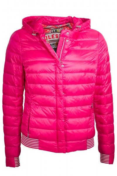 Wunderschöne Daunenjacke von Milestone in pink