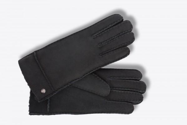 Klassische Lammfelhandschuhe von Roeckl für Damen in schwarz