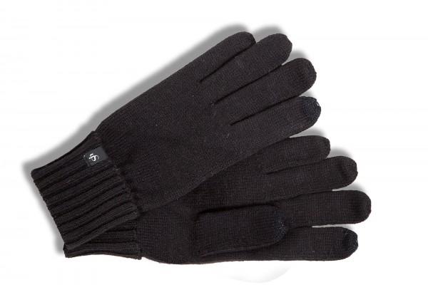 Modischer Strickhandschuh von Roeckl mit Touch Funktion in schwarz