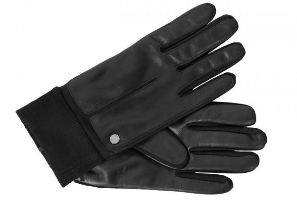 Sportive Toch Handschuhe für Männer schwarz