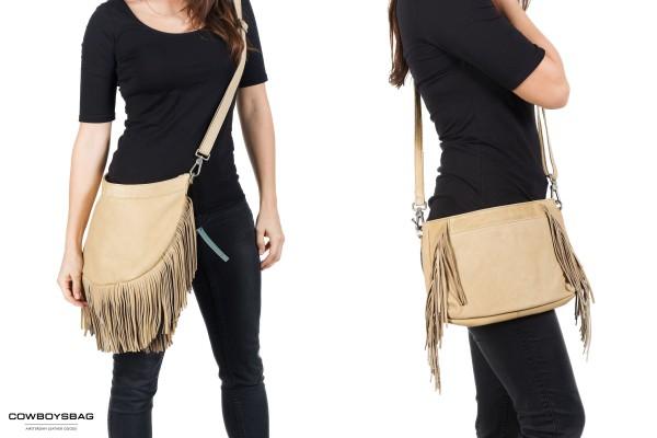 Damen-Taschen-Fransen-Cowboysbag