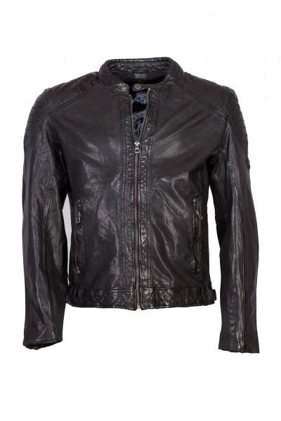 Gipsy Lederjacke schwarz