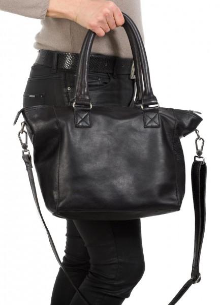 Cowboysbag Damen Tasche Barrow schwarz