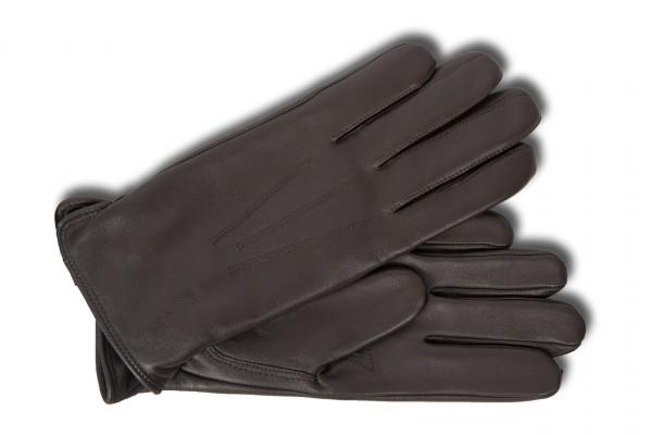 Schlichte Herrenhandschuhe von Bugatti in braun