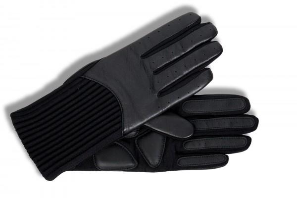 Modische Roeckl-Touch Handschuhe schwarz