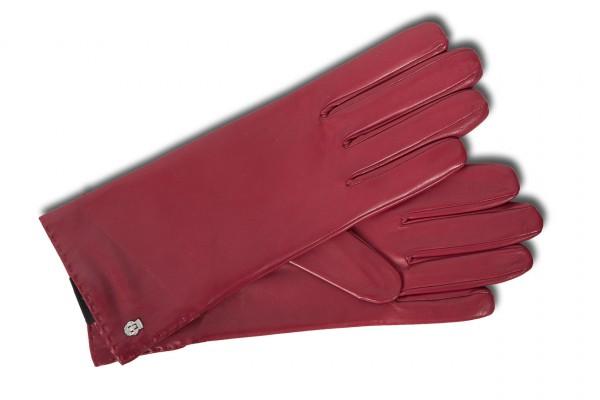 Edle Damenhandschuhe von Roeckl in rot