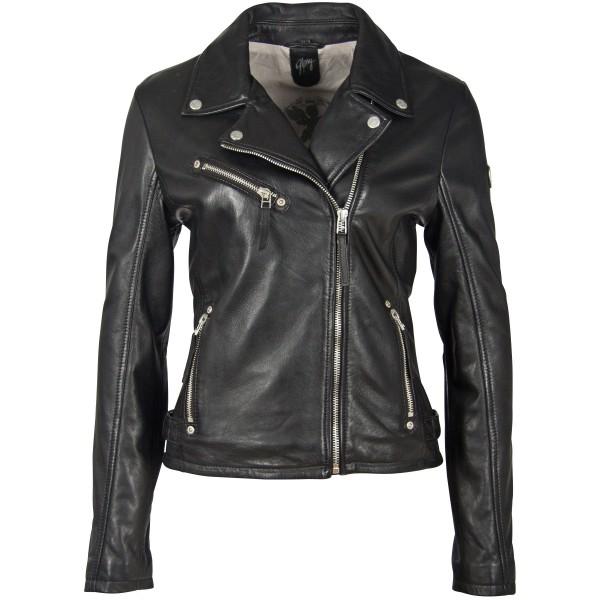 Gipsy Damen Lederjacke schwarz