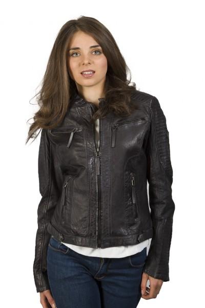 Fabelhafte Lederjacke von Gipsy in schwarz