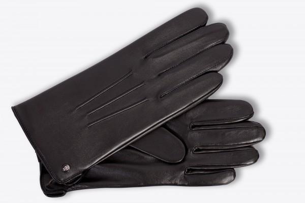 Klassischer Herrenhandschuh von Roeckl in schwarz