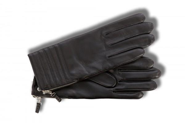 Trendige Handschuhe für Damen von Roeckl in schwarz