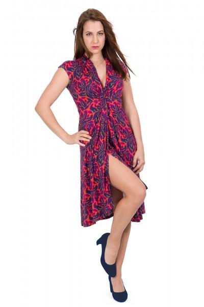 Tolles Kleid von Ellen Eisemann orange pink Dorotha