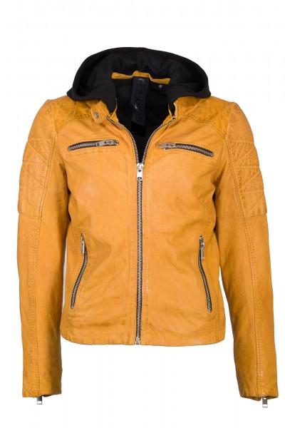 Gipsy 2.0 Lederjacke Damen gelb