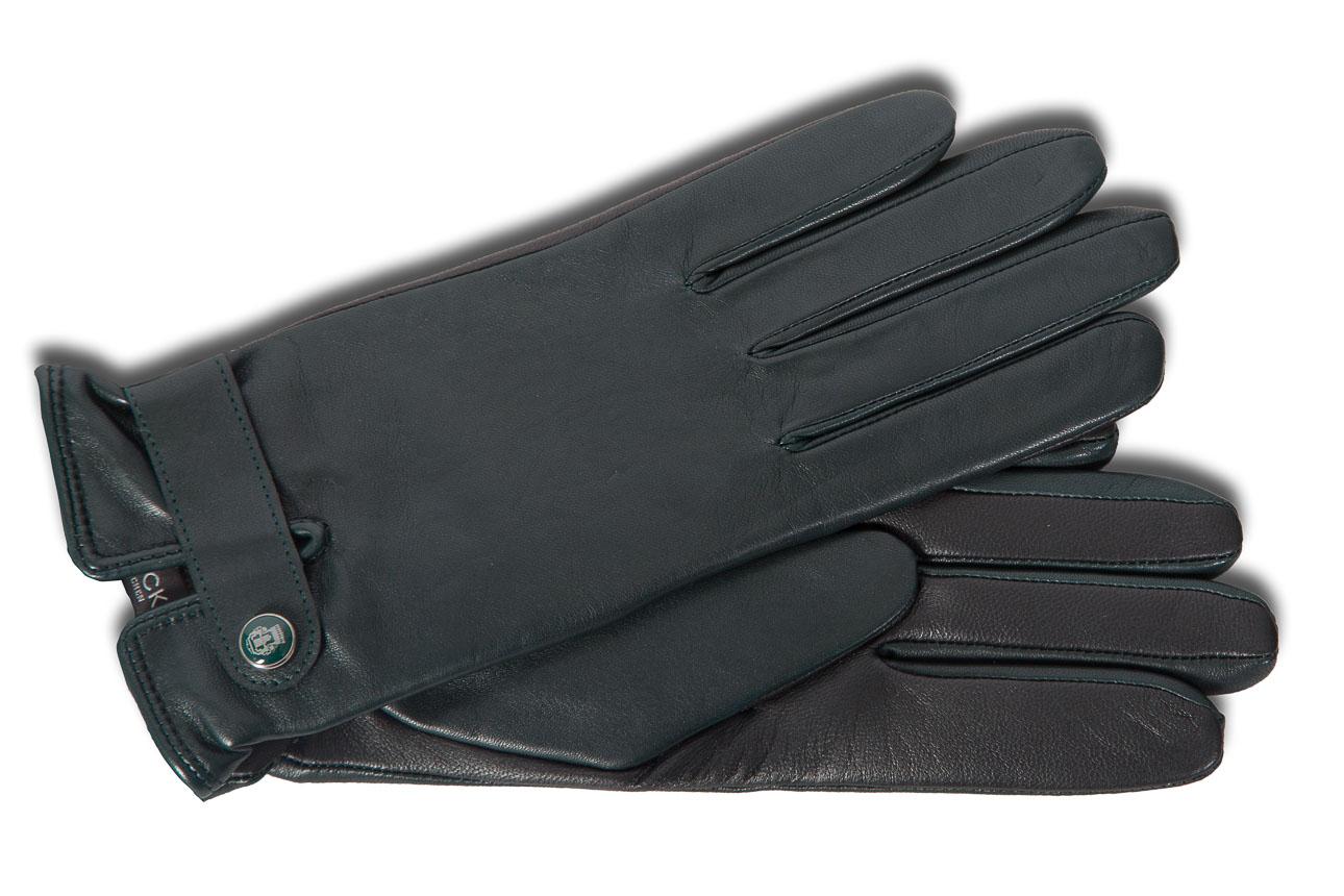 schicker handschuh f r damen mit touch funktion in dunkelgr n schwarz damenhandschuhe. Black Bedroom Furniture Sets. Home Design Ideas