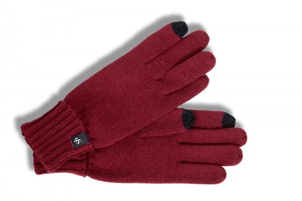 touch handschuhe von smarthands by roeckl aus strick in bordeaux damenhandschuhe handschuhe. Black Bedroom Furniture Sets. Home Design Ideas