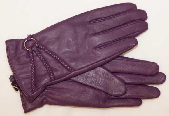 Trendiger Damenhandschuh in pink