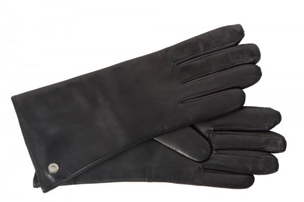 Roeckl Damen Lederhandschuhe Klassik mit Touchfunktion schwarz