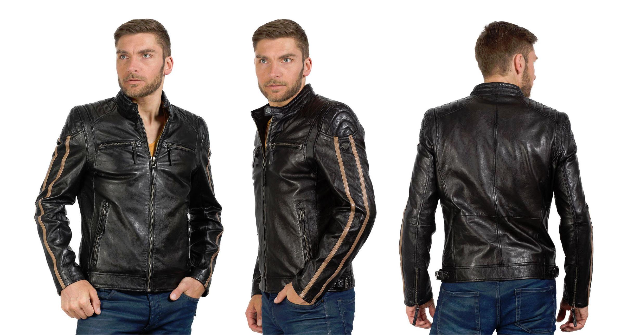 new style 8227f d82b3 Herren Lederjacken von Gipsy | Blog | Ledermode Wagner